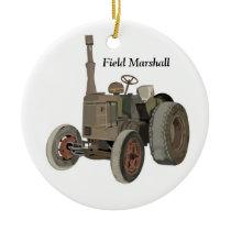 Field Marshall Ceramic Ornament