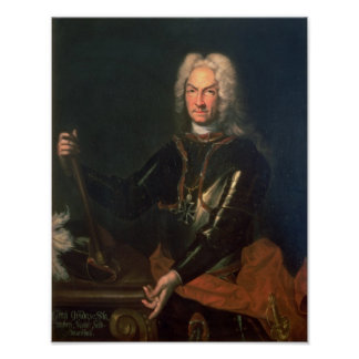 Field Marshall Count Guidobald von Starhemberg Poster