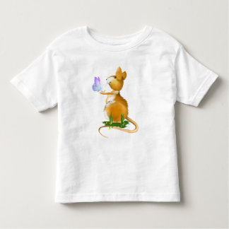 *Field Mouse and Blue Butterfly T-shirt