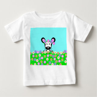 Field Mouse in a Field of Wild Flowers, T-Shirt