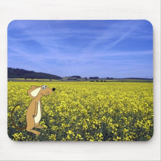 Field Mouse Mouse Pad