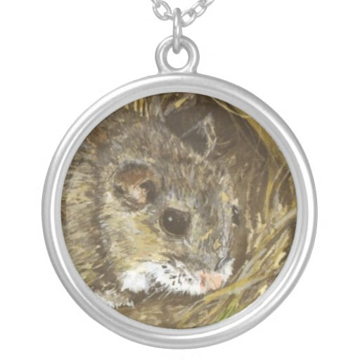 Field Mouse Necklace