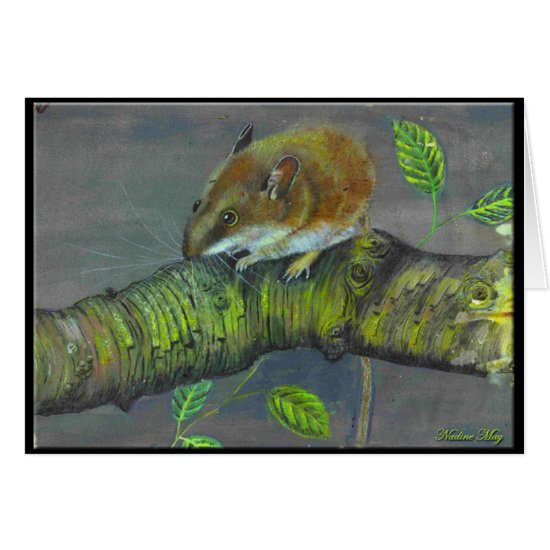 Field mouse painting