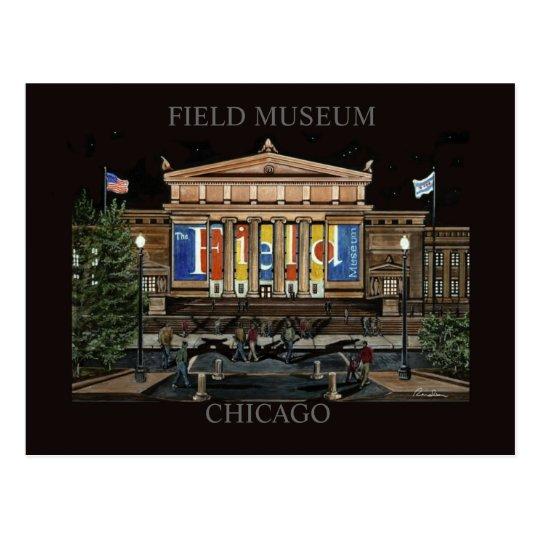 Field Museum Chicago Randsom Art Postcard