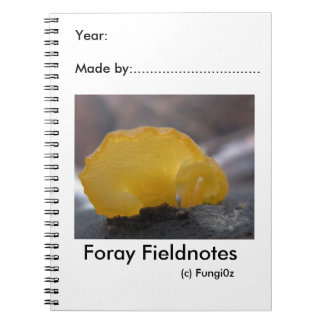 Field naturalist's Notebook by Fungi0z