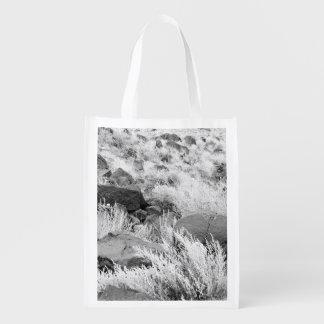 Field of Basalt Grocery Bags