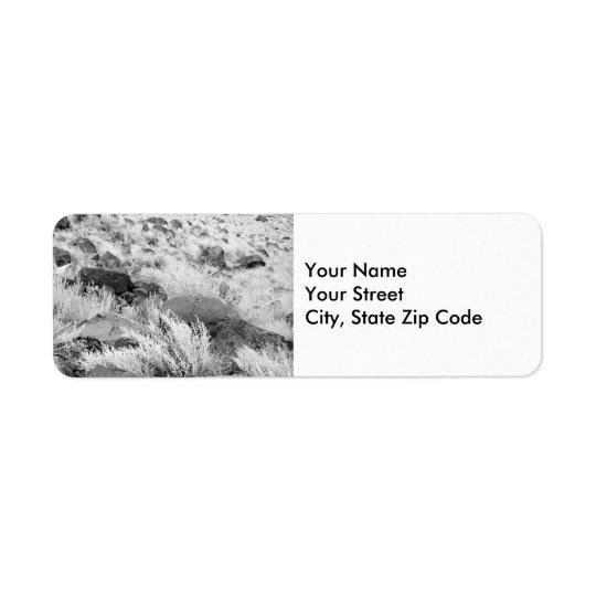 Field of Basalt return address label