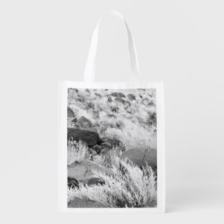 Field of Basalt Reusable Grocery Bag