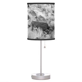 Field of Basalt Table Lamp