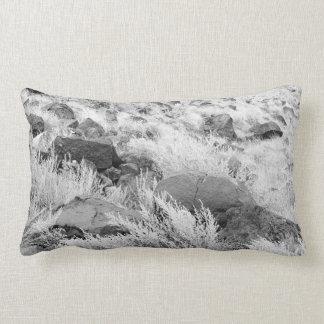 Field of Basalt Throw Pillow