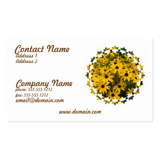 Field of Black Eyed Susan Business Card