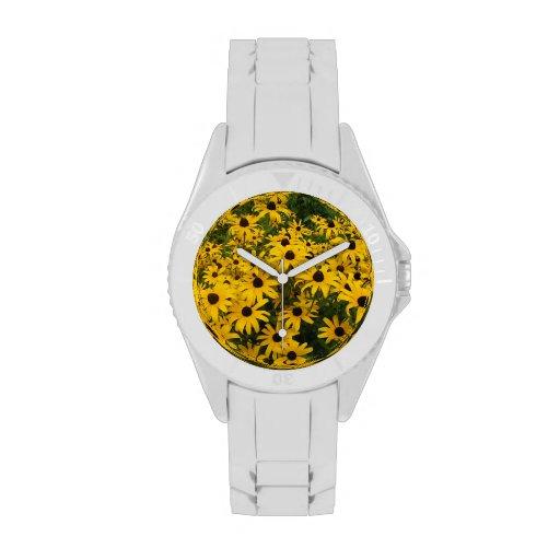 Field of Black Eyed Susans Wristwatch