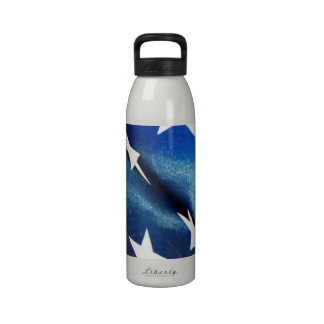 Field of Blue Water Bottles