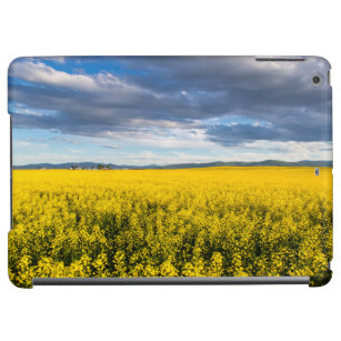 Field Of Canola In Late Evening Light Cover For iPad Air