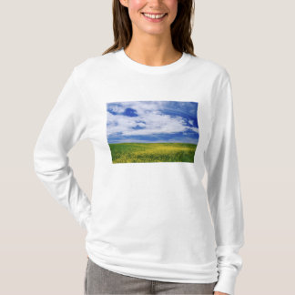Field of Canola or Mustard flowers, Palouse T-Shirt