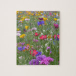 Field of Colorful Flowers Jigsaw Puzzle