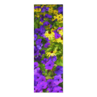 Field of Colors Bookmark Mini Business Card