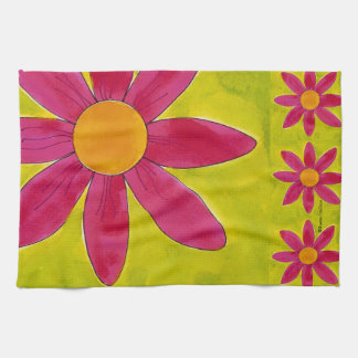 Field of Daisies American MoJo Kitchen Towel