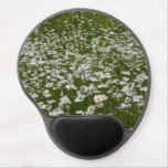 Field of Daisies Nature Photo Gel Mouse Pad
