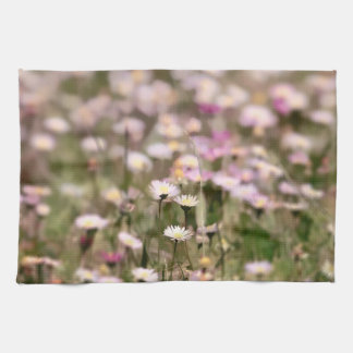 Field of Daisies Photo Towel