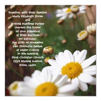 Field of Daisies Wedding Invitations