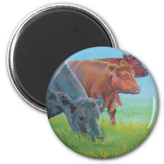 Field of dreams 2 inch round magnet