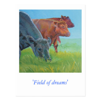 Field of dreams post card