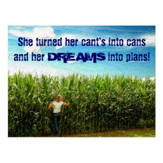 Field of Dreams Postcard