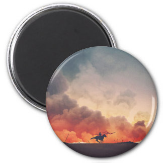 Field Of Flames Magnet