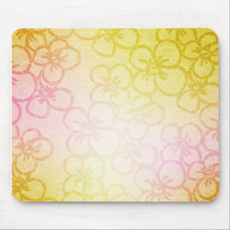 Field Of Flower - Yellow Mouse Pad