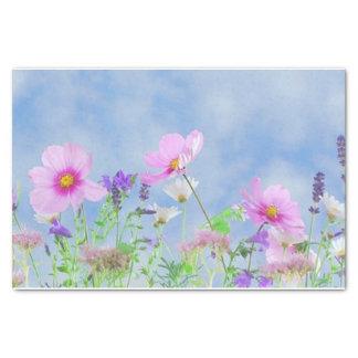 "Field of Flowers 10"" X 15"" Tissue Paper"