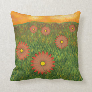 """Field of Flowers"" American MoJo Pillows"