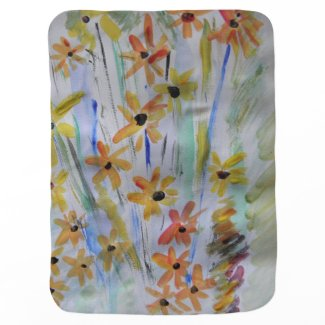 Field of Flowers Baby Blanket