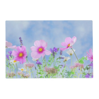 Field of Flowers Laminated Placemat