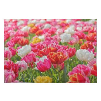 Field of Flowers Cloth Placemat