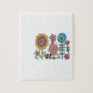 Field Of Flowers Jigsaw Puzzle