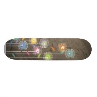 field of flowers skateboard