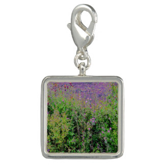 Field of Flowers Square Charm