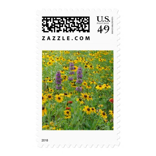 FIELD OF FLOWERS STAMPS
