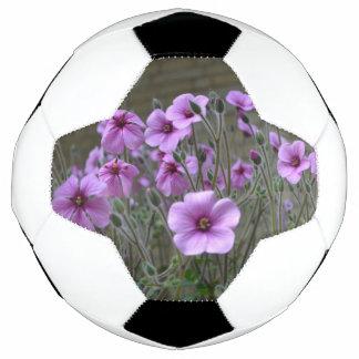 Field of Geraniums Soccer Ball