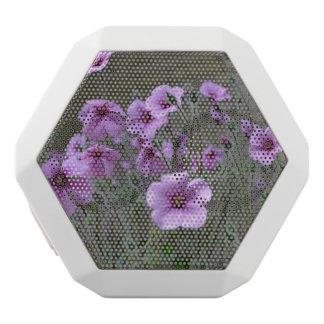 Field of Geraniums White Bluetooth Speaker