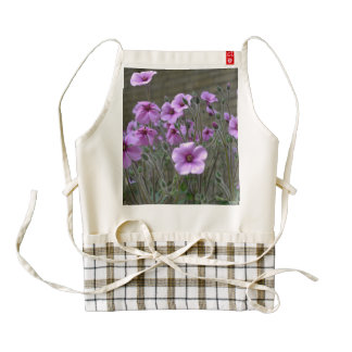 Field of Geraniums Zazzle HEART Apron