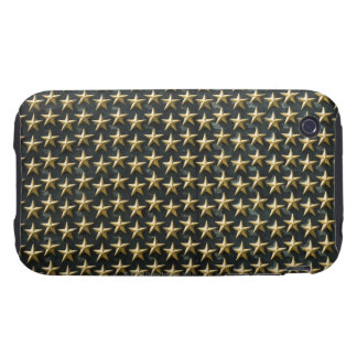 Field of gold stars at World War II Memorial Tough iPhone 3 Case