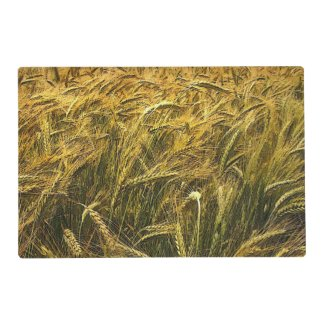 Field of Grain Laminated Placemat