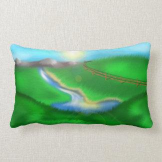 Field of Grass Lumbar Pillow