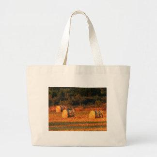 Field of hay bag