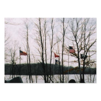 FIELD OF HONOR LARGE BUSINESS CARDS (Pack OF 100)
