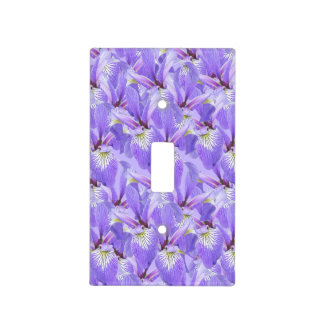Field of Irises Light Switch Cover