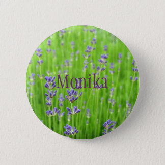 Field of Lavender Button