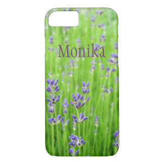 Field of Lavender iPhone 7 Case